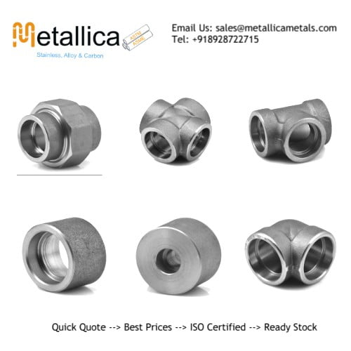 Alloy Steel Socket Weld Threaded Fittings Manufacturers in India