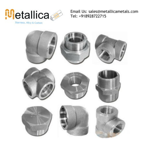 Stainless Steel Forged Fittings Manufacturer, Wholesaler, Dealer, Supplier and Distributor In India and Abroad