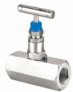 Hex Needle Valve - Female x Female