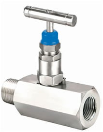 Hex Needle Valve - Male x Female