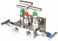 Manifold - T - 5 Way (Direct Mounting)