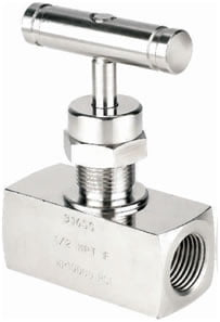 Needle Valve - Female x Female - High Pressure